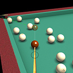 3D Billiard Piramid
