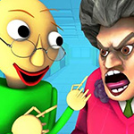 Evil Teacher Baldi