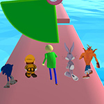 Fun Race 3D Baldi's Basics
