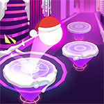 Hop Ball 3D: Dancing Ball on Marshmello Tiles Road
