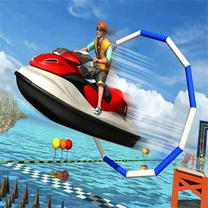 Super Jet Ski Race Stunt: Water Boat Racing 2020