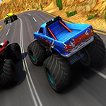 Xtreme Monstre Truck & Offroad Fun Game